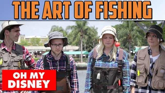 The Art Of Fishing - Oh My Disney