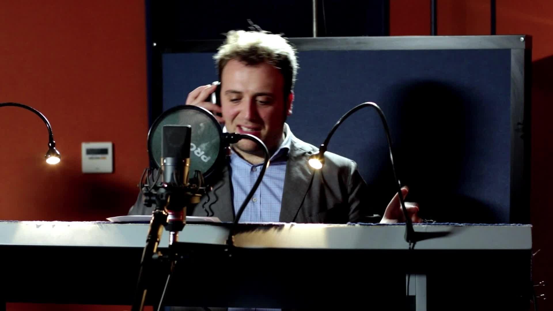 Raphael Gualazzi - il doppiatore del mitico granchio Tamatoa