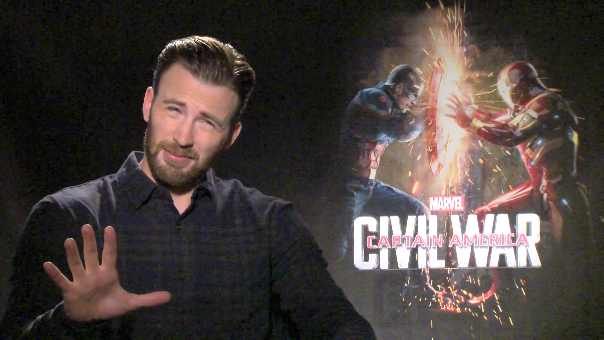 S.H.I.E.L.D. or Shield With Captain America: Civil War's Chris Evans
