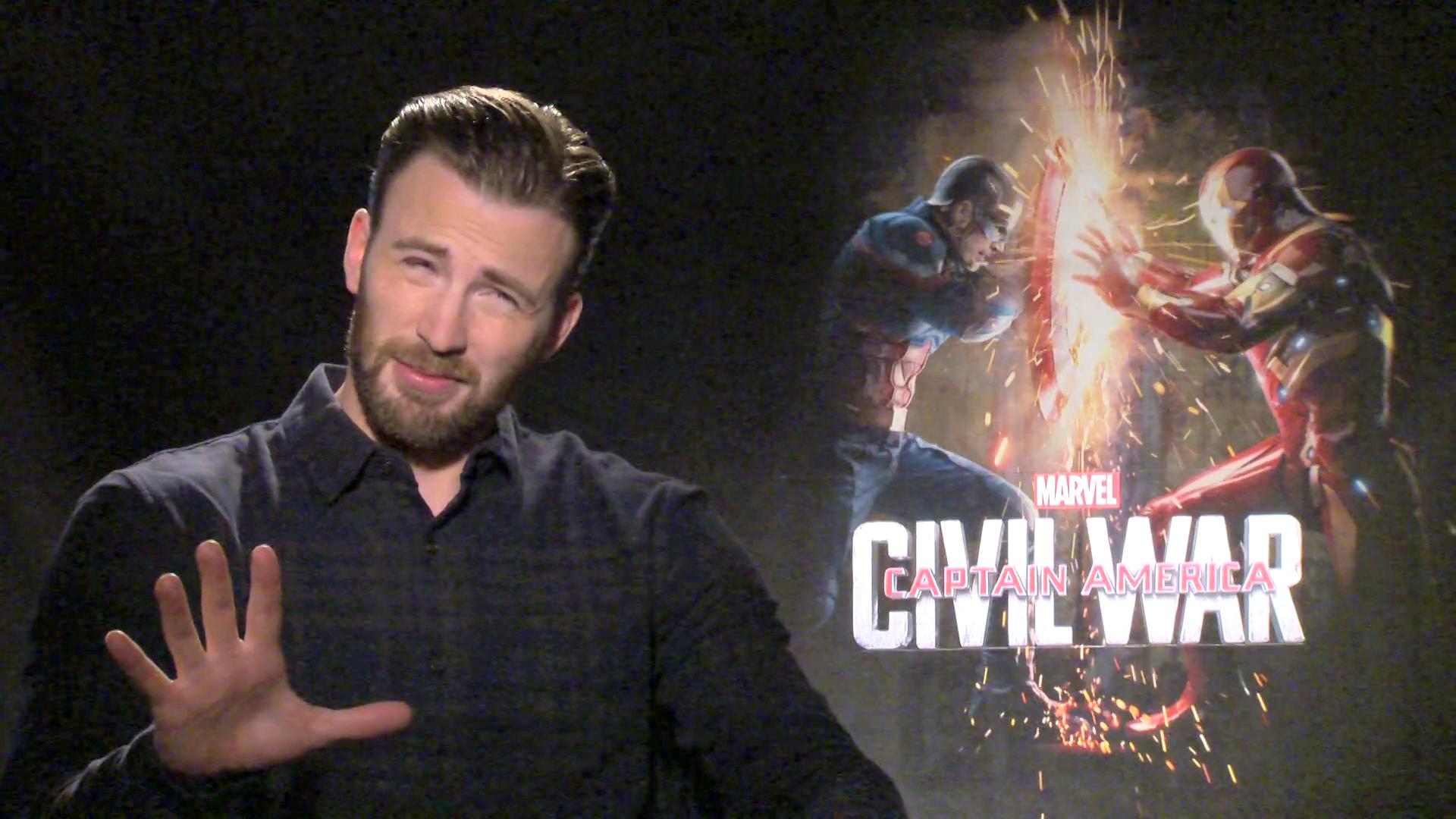 S.H.I.E.L.D. or Shield With Captain America: Civil War's Chris Evans