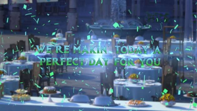 """Making Today A Perfect Day"" (Lyric Video) - The Cast of Frozen Fever"