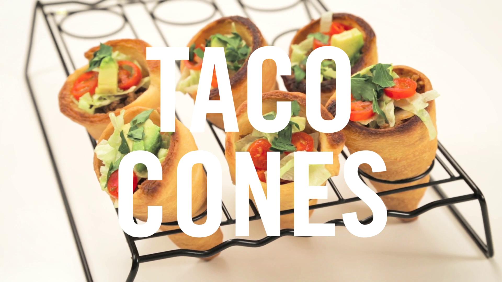 Taco Cones | Babble Eats