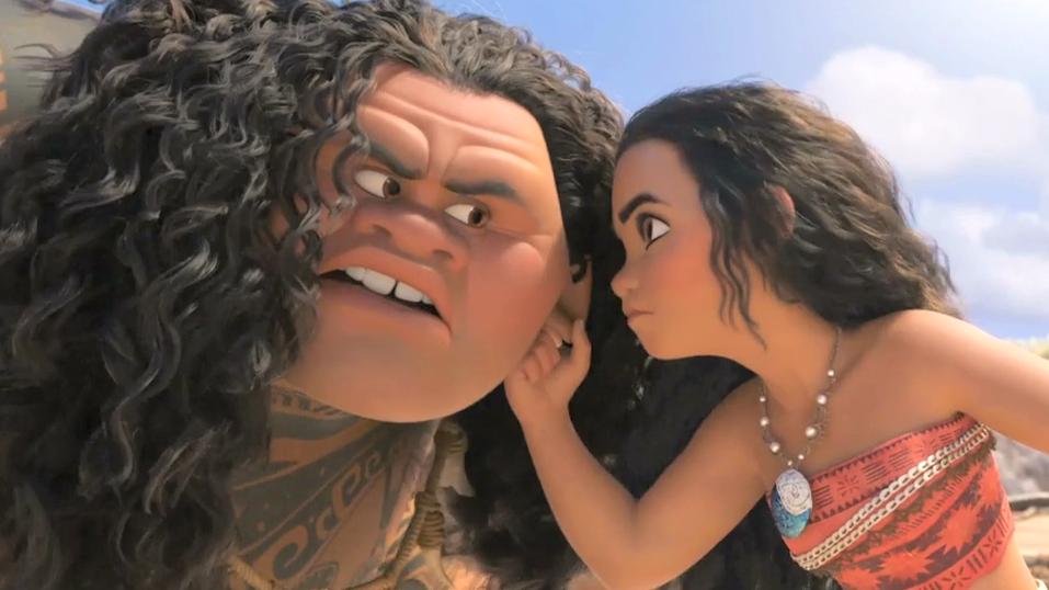 """""""Moana Meets Maui"""" Clip - Disney's Moana"""