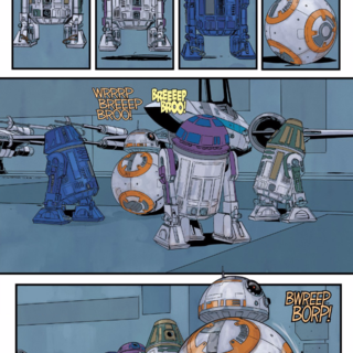 Comic Book Galaxy: BB-8's Excellent Droid Strike Team in Poe Dameron #5 and More
