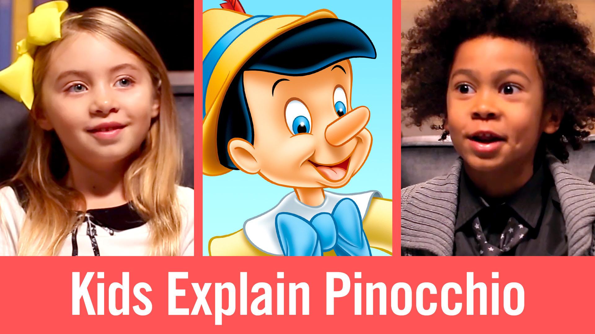 Kids Explain Pinocchio | Babble
