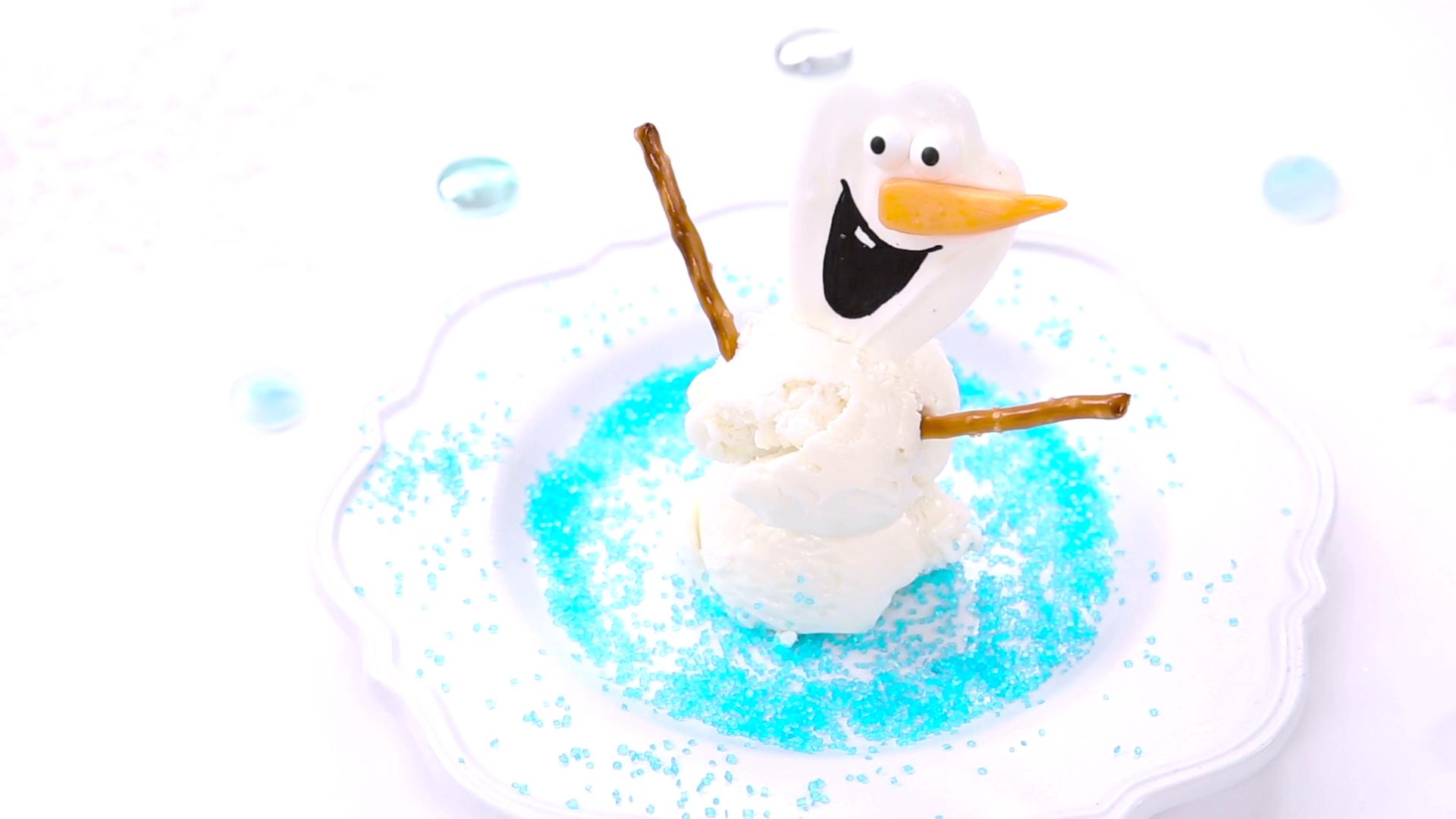 Olaf Summer Sundae | Dishes by Disney