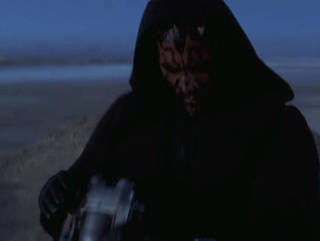 Maul Arrives on Tatooine