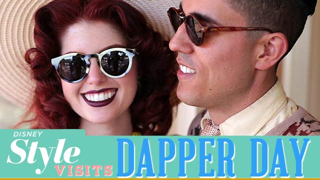 Dapper Day Visit - Disney Style Featurette