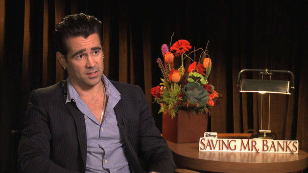 Colin Farrell on Saving Mr. Banks