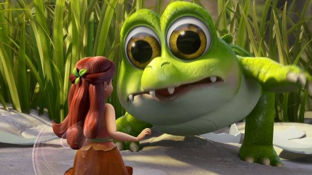 Baby Croc - The Pirate Fairy - Scene