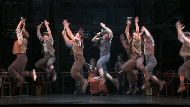 One Year on Broadway - Newsies