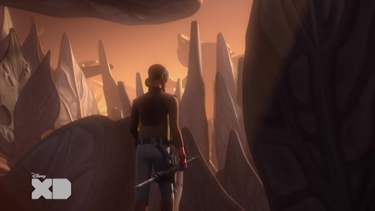Star Wars Rebels - Kanan Jarrus e l'holocrons of fate