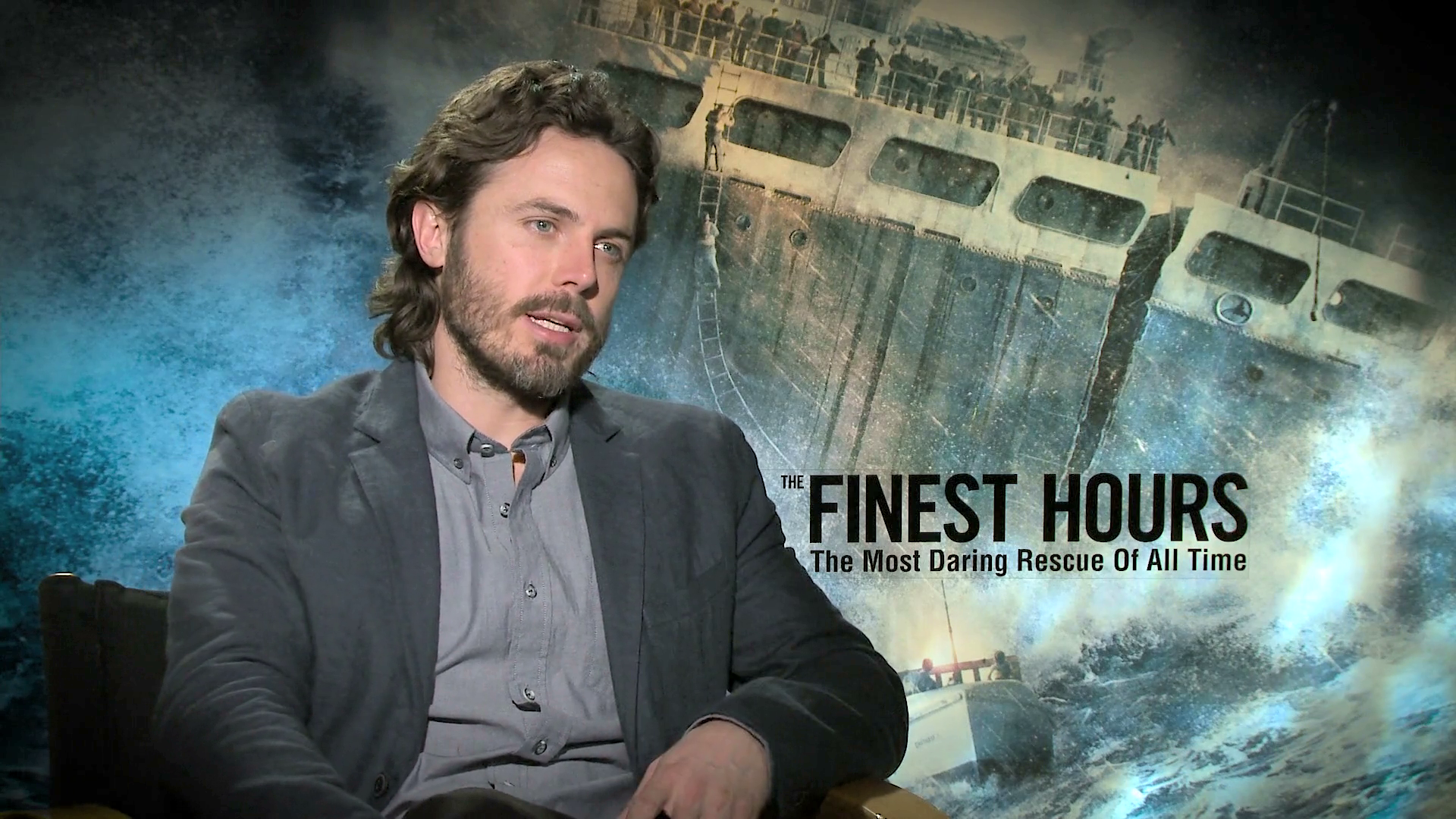 Behind The Scenes with the Cast of The Finest Hours | Disney Insider