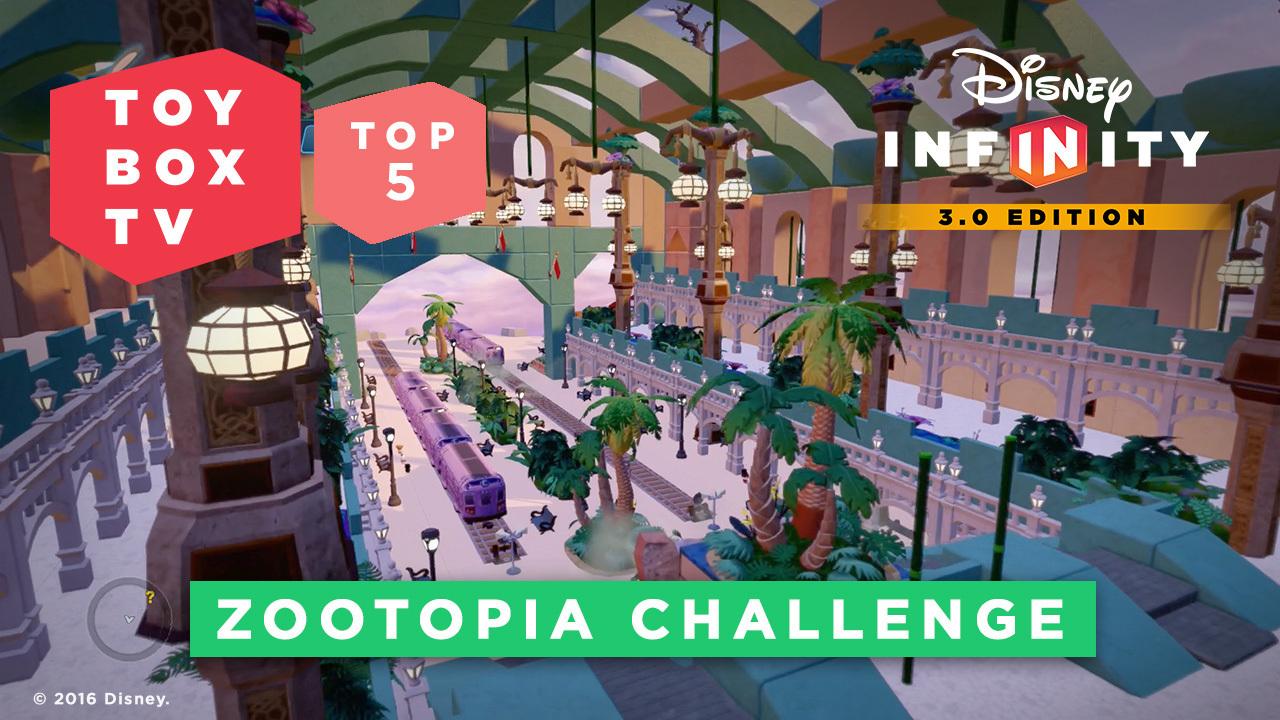 Zootopia Challenge - Top 5 Toy Boxes - Disney Infinity Toy Box TV