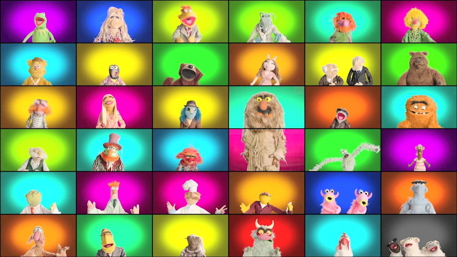 The Muppets Recreate a Classic Tune
