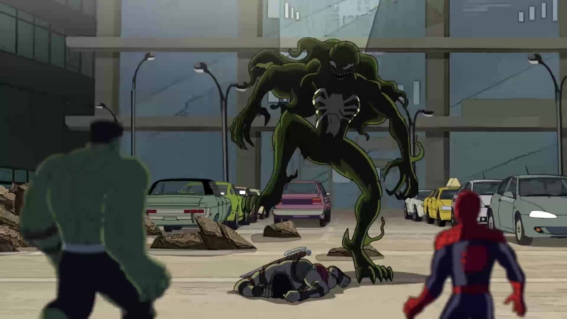 Hulk and the agents of S.M.A.S.H - Gevenomiseerde Hulken!