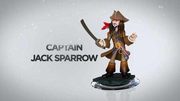 Captain Jack Sparrow - POTC Play Set - DISNEY INFINITY