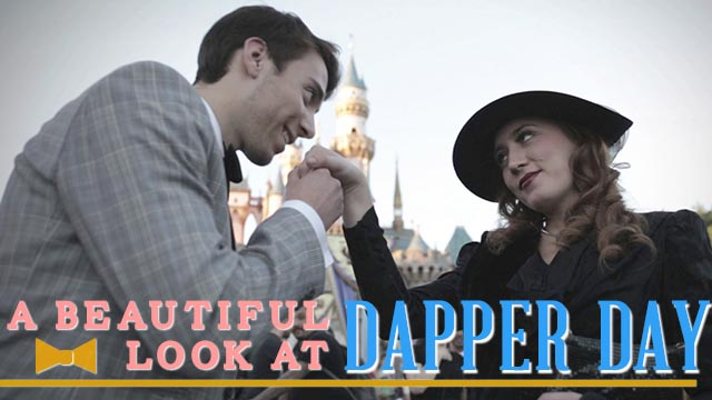 A Beautiful Look at Dapper Day - Disney Style