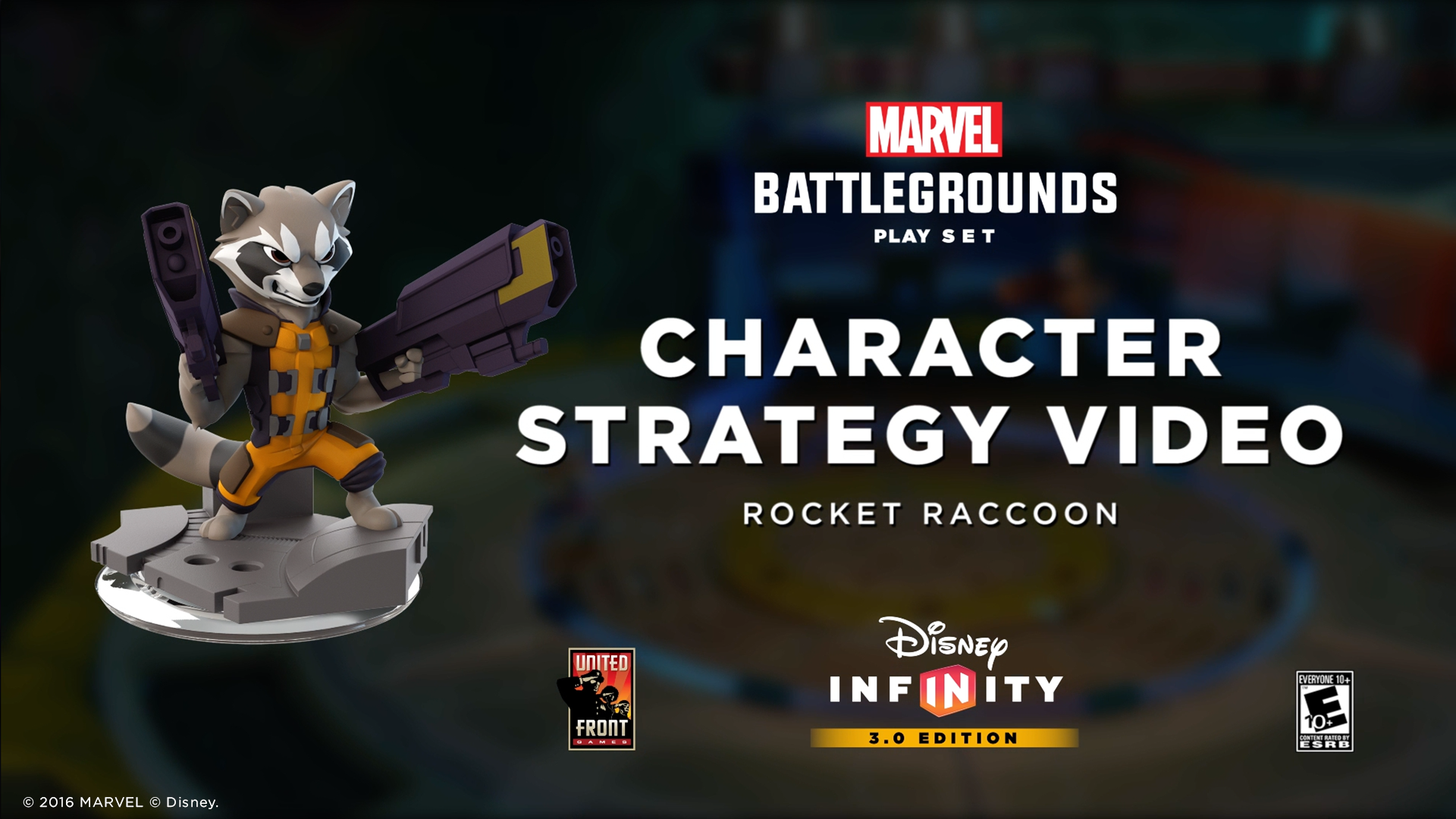 Rocket Raccoon | Marvel Battlegrounds Strategy Video | Disney Infinity 3.0