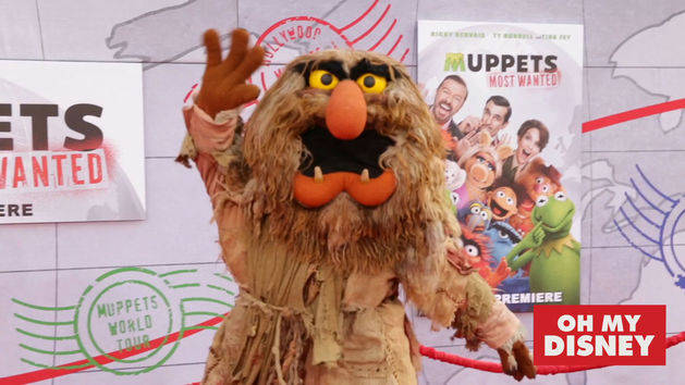 Muppets Most Wanted Red Carpet Interviews