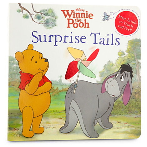 Winnie the Pooh Book - ''Surprise Tails''