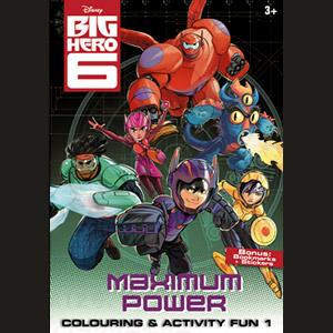 Big Hero 6 Colouring & Activity Fun 1