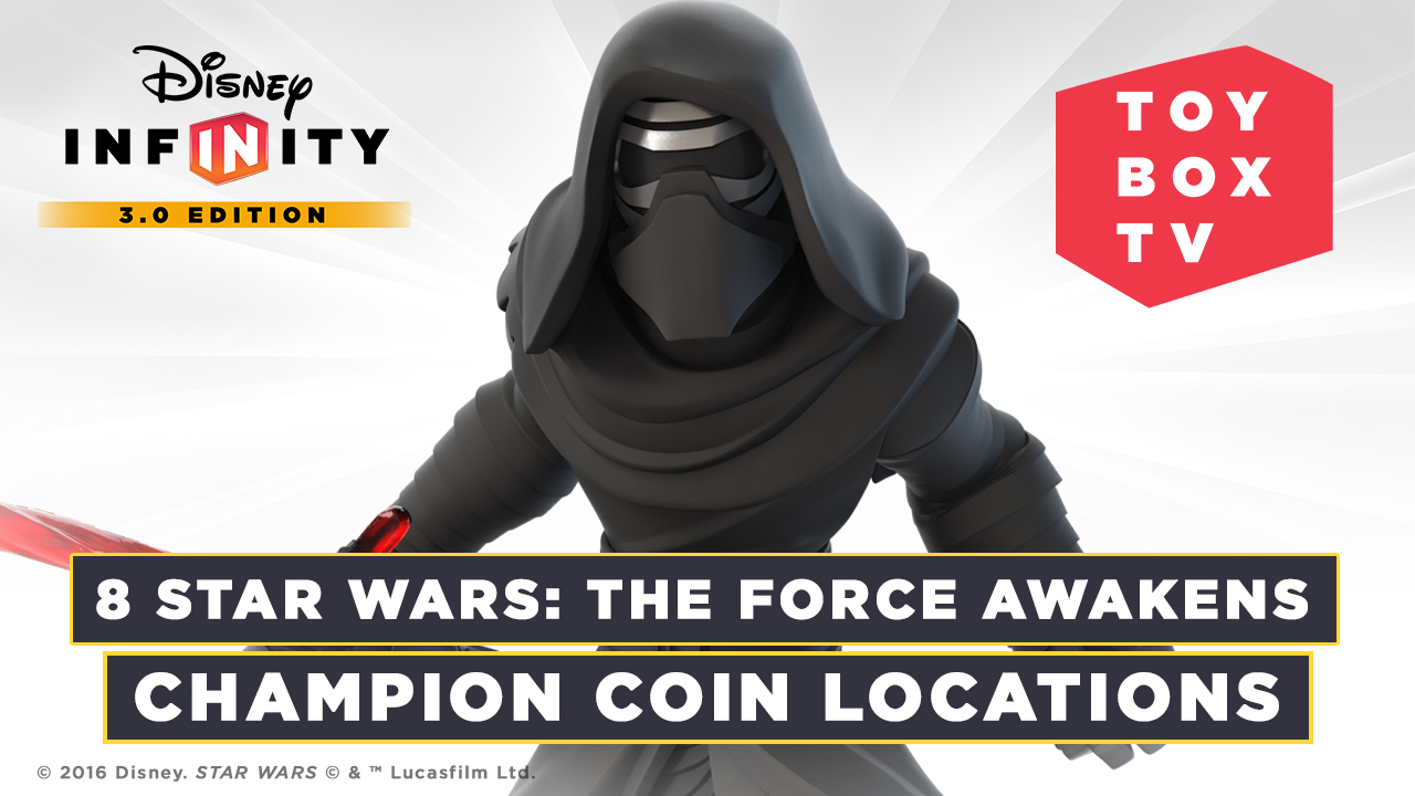 Star Wars: The Force Awakens Champion Coin Locations | Disney Infinity Toy Box TV