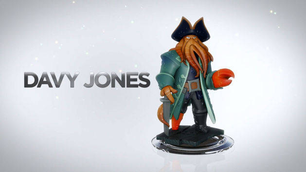 Davy Jones - POTC Play Set - DISNEY INFINITY