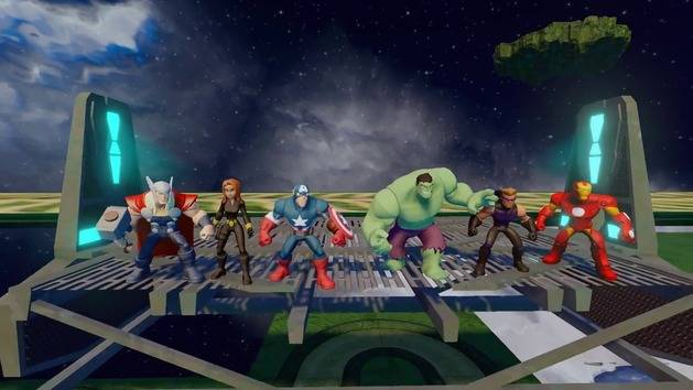 The Avengers Play Set Trailer - Disney Infinity