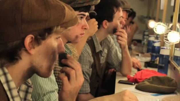 Newsies On Broadway: Backstage