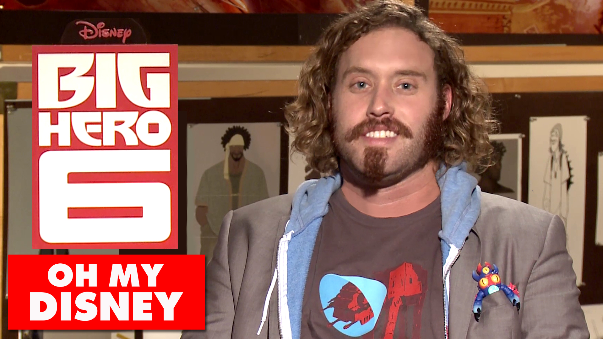 The Nickname Game with T.J. Miller - Oh My Disney