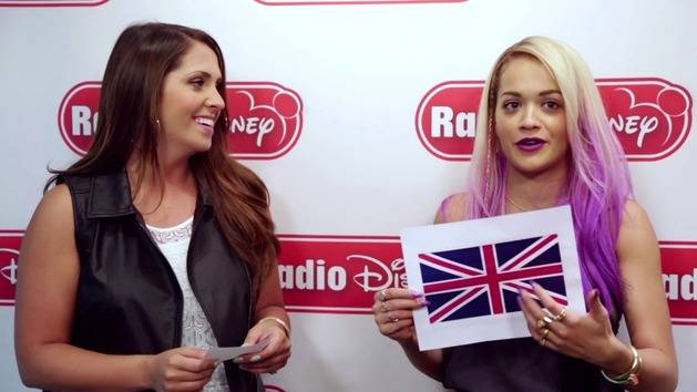Rita Ora Plays US vs. UK - Radio Disney