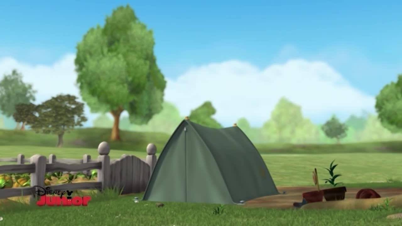 I miei amici tigro e Pooh - La tenda