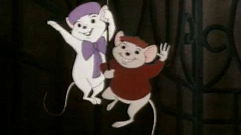 The Rescuers DVD Trailer