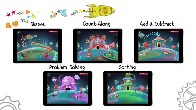 Explore the 5 Worlds of Mickey's Magical Math! - Disney Imagicademy