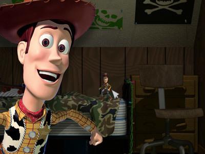 La fuga di Woody