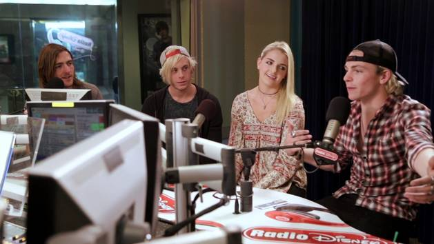"R5 on ""Let's Not Be Alone"" - Radio Disney"
