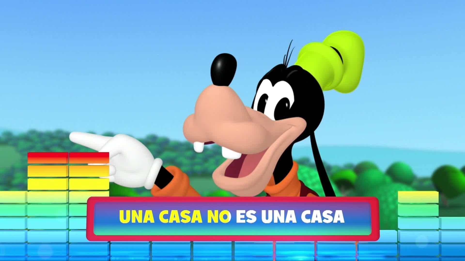 """Una casa sin amigos. De la serie: """"La casa de Mickey Mouse: La vuelta al mundo con Mikey Mouse"""""""