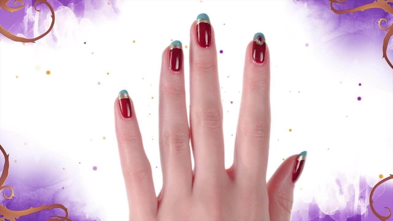 Nail art a tema gioielli