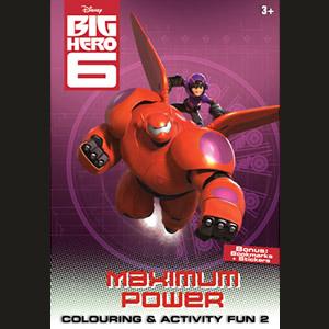 Big Hero 6 Colouring & Activity Fun 2