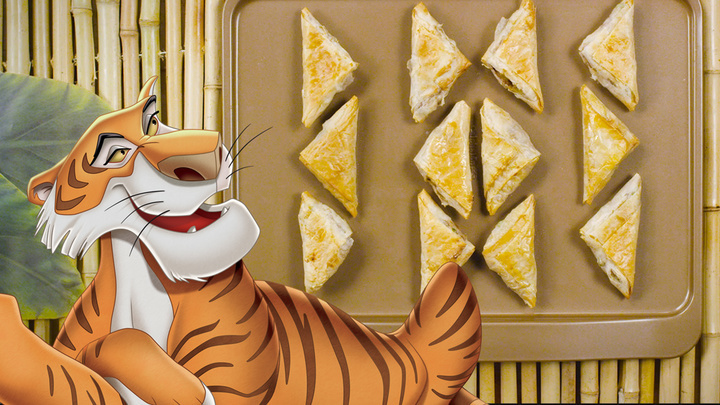 Jungle Book - Shere Khan Samosas | Dishes By Disney
