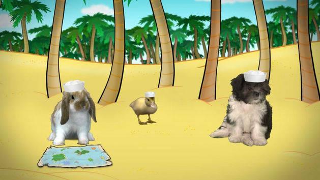Fuzzy Tales: Gulliver's Island