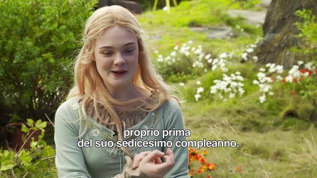 Maleficent - il set - Il ruolo della Principessa