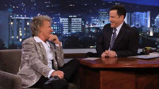 Rod Stewart - It's Kimmel Time!