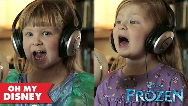 "Maddie and Zoe Sing ""Let It Go"" from Frozen"