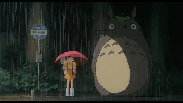 At The Bus Stop - My Neighbor Totoro