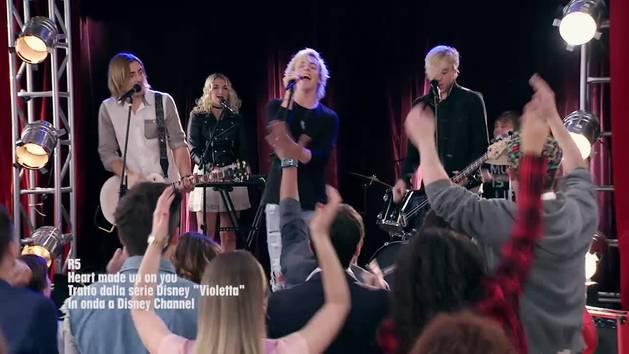 R5 - Heart made up on you - video musicale
