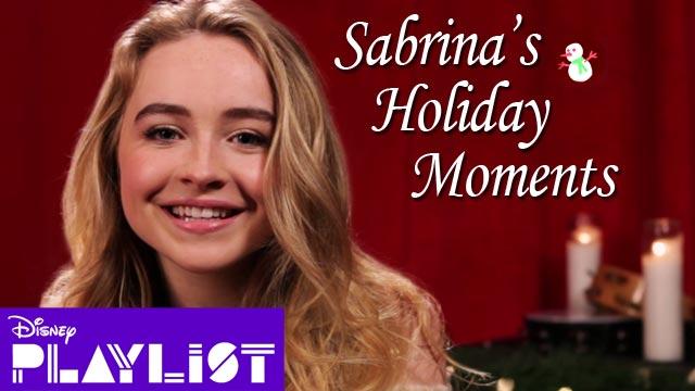 Sabrina Carpenter Talks Holiday Traditions | Disney Playlist