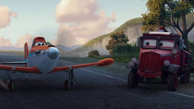Planes 2 - Dusty vola a Piston Peak