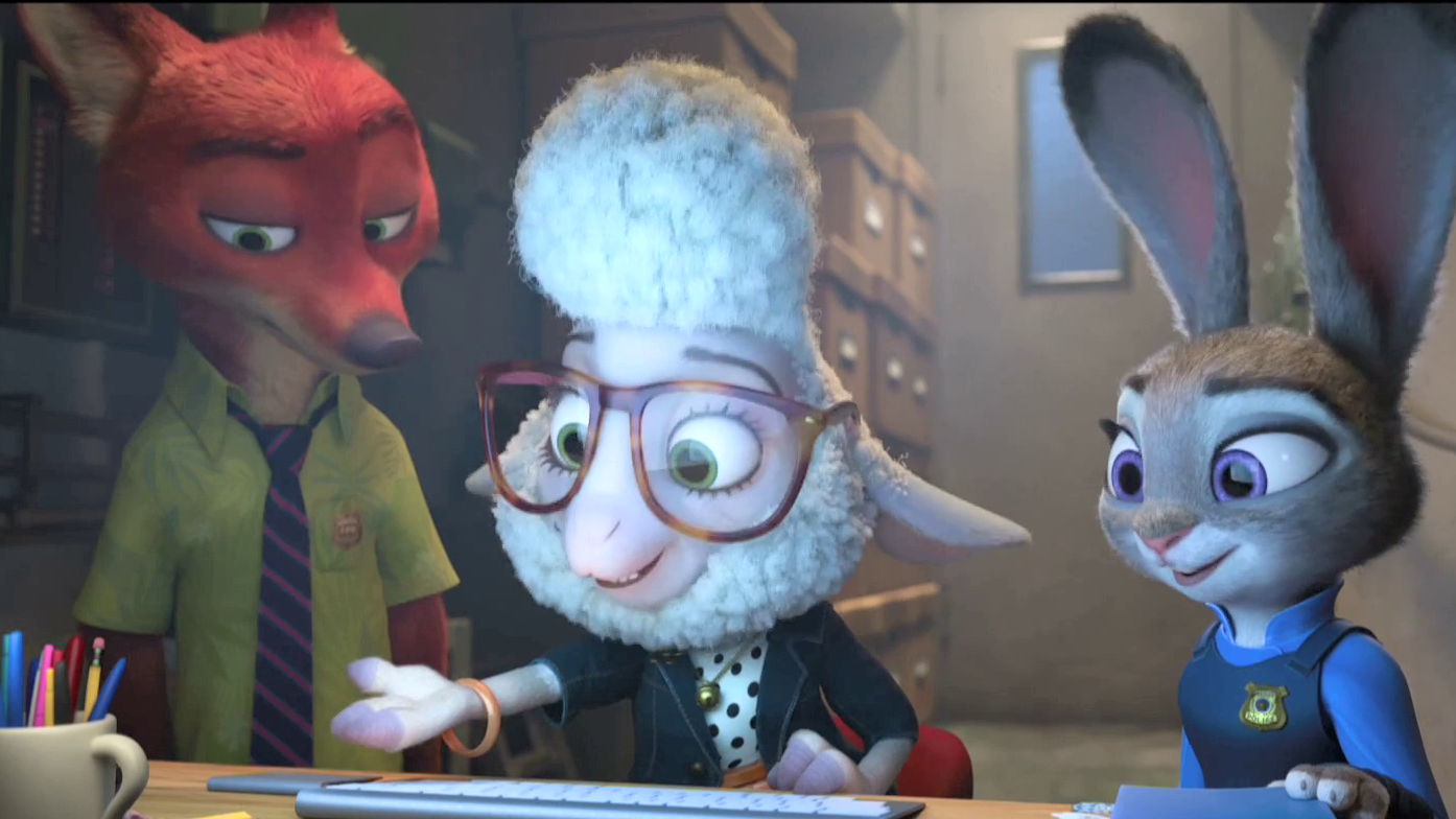 Assistant Mayor Bellwether Clip - Zootopia